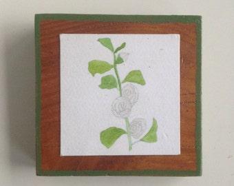 Hollyhock Tiny Print