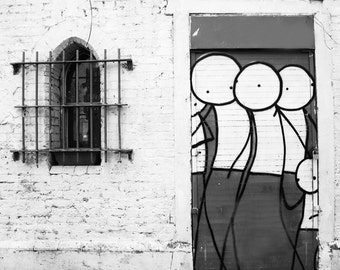 Stik Street Art, Graffiti Photography, London Photography, Fine Art Print, Contemporary Wall Art, Urban Photography