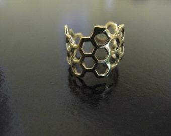 Anello dito regolabile o superiore in ottone Toe Ring, anello in ottone per Dreads