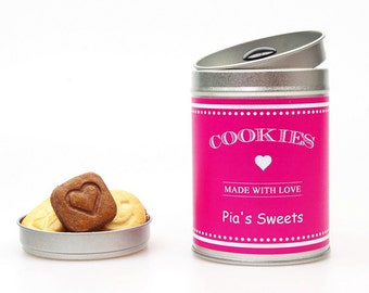 COOKIE Gift Tin Personalized