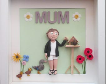Personalised Mother's Day portrait