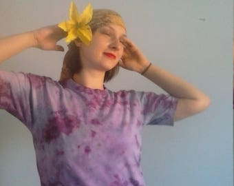Mystic Purple Majesty Tie Dyed T-shirt
