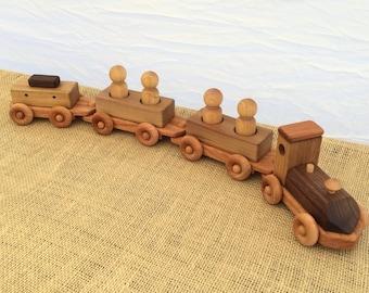 Wooden Peep Train