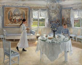 "Fanny Brate : ""A Day of Celebration (Namnsdag)"" (1902) - Giclee Fine Art Print"