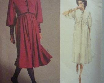 Vintage Vogue American Designer Albert Nipon Pattern 1984  Size 8