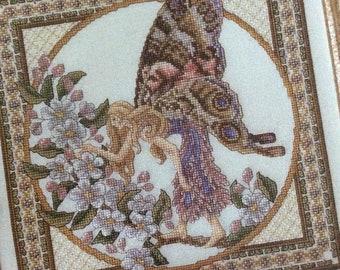 Spring Faerie Cross Stitch Pattern by Teresa Wentzler 2271 ,Fairy Chart, 1996