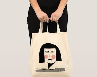 Grocery bag by monneeshka