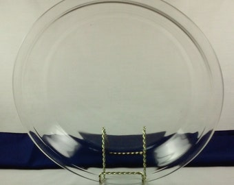 Pyrex Pie Plate Clear Glass 10 Inch Pie Plate Vintage Pyrex 210 25 cm & 10 inch pie plate   Etsy
