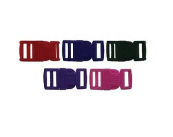 Paracord 15mm Colored Buckles
