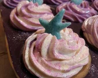 Sweet fruit cupcake