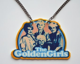 The Golden Girls Inspired Necklace