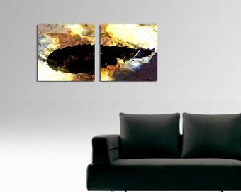 Giclee canvas - Unifolia