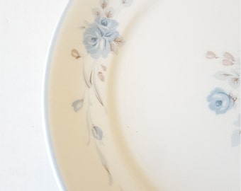 Mismatched Noritake Blue Floral Dinner Plate For Wedding, Dinner Party, Bridal Shower, Mismatched Dishes, Collectable, Luncheon,