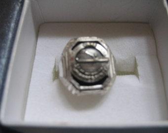 Lake Winnipesaukee Souvenir Ring Adjustable Shank Very Rare and Unusual