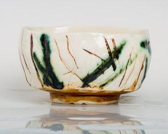 RACUNDI - Porcelain bowl, unique, handmade, OOAK