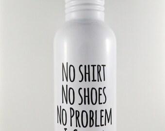 swimmer water bottle, stainless steel water bottle for swimmer, swimming sports bottle, swim gift, swim team sports bottle, swim coach gift