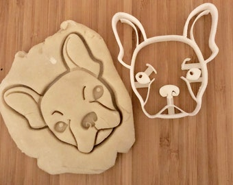 French Bulldog cookie cutter - frenchie cookie cutter