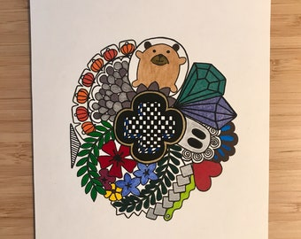 Felt, unique artwork