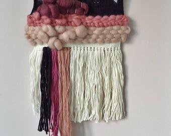 No 15 | Woven Wall Hanging | Retro Pink