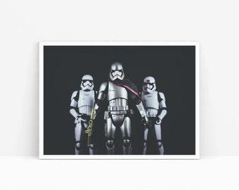 Dark side, Star Wars, Original Art Print, Poster Wall Art, High Quality Print, Wall Decor