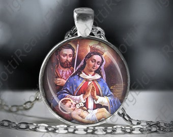 Our Lady of Altagracia Catholic Necklace Virgin Mary Pendant Christian Medal. FREE SHIPPING