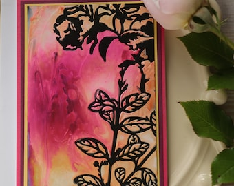Stunning Floral Card