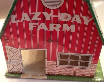 "Vintage ""Lazy Day Metal Barn"""