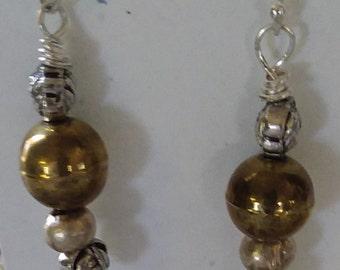 Pardon My Brass Earrings