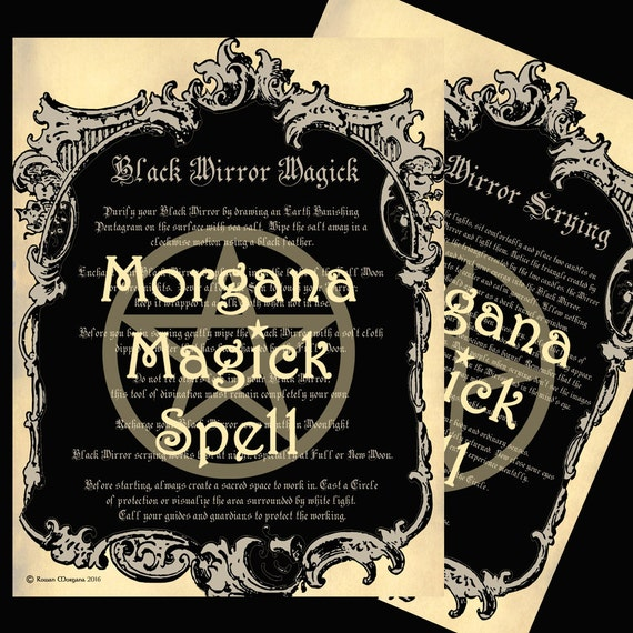 The Black Mirror - Magick and Scrying