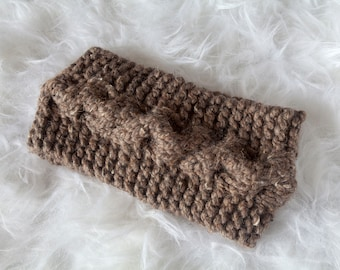 Barley Cabled Ear Warmer Headband