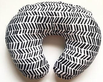 Nursing Pillow Cover Black Impressions. Nursing Pillow. Nursing Pillow Cover. Minky Nursing Pillow Cover. Black Nursing Pillow Cover.