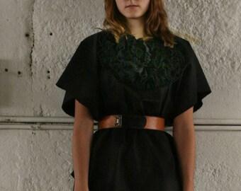 artlab black poncho NO.1