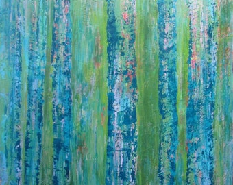 "Trees up North 30"" x 26"""