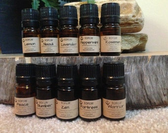 Deluxe Essential Oil and Necklace Set