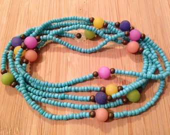 Zen bracelets in turquoise and jade