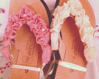 handmade sandals!