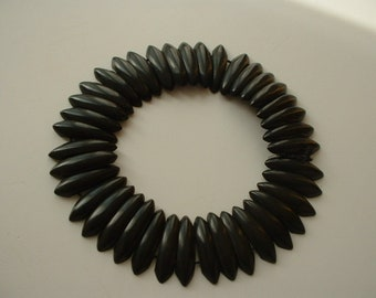 Victorian mourning collar necklace