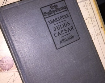 1919 Shakespeare's Julius Caesar Book