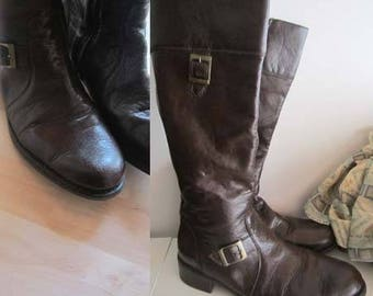 Vintage Leather Boots remonte 41/8