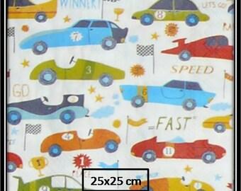 paper towel race cars