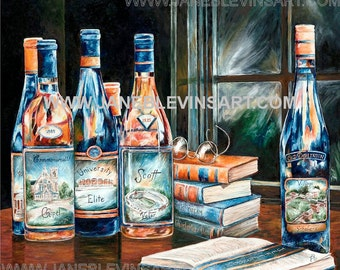The University Canvas Giclee