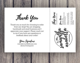 Po Thank You Cards Wedding | Set Of 12 Thank You Cards With Envelopes Small Thank You Note
