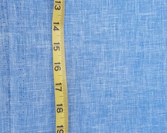 Bottom weight Chambray Cotton Fabric see Description 4-7/8yd