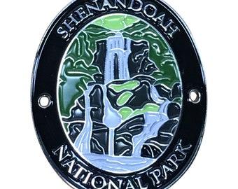Shenandoah National Park Walking Stick Medallion - Blue Ridge Mountains, Virginia