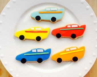 Cars Cookie Favors