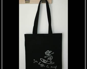 -Cotton shopping bag - Tote bag beach bag