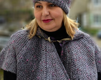 Shawl, Neckwarmer ... Hat is free of charge