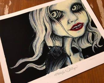 2016 Vampire Art Print