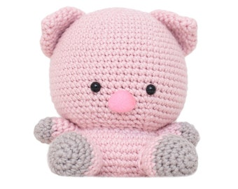 Peggy the Pig Amigurumi Pattern