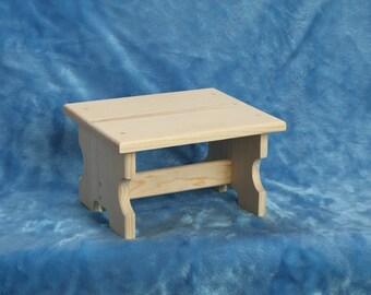 Childrens Wood Stool
